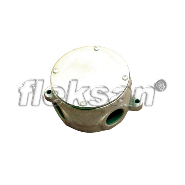 BOX, MALLEABLE IRON, WITH MOUNTING LUGS L