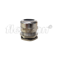 CABLE GLAND, BRASS, LONG THREADED