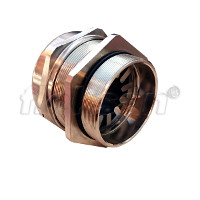 CABLE GLAND, BRASS, FOR ARMOURED CABLE
