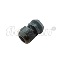CABLE GLAND, POLYAMIDE, BLACK