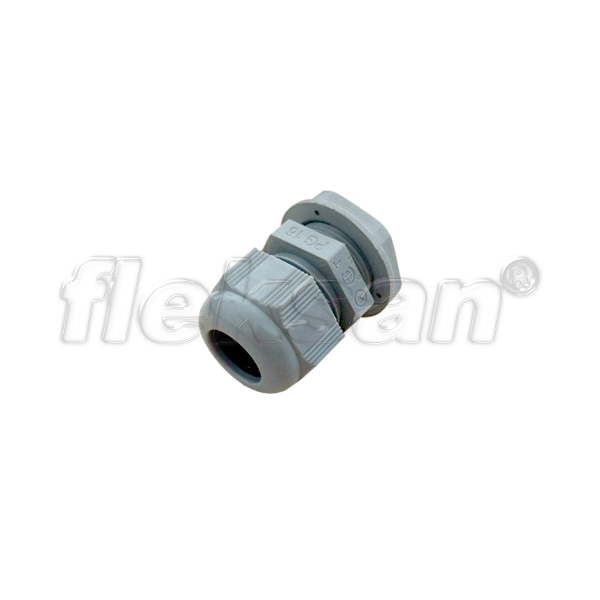CABLE GLAND, POLYAMIDE, GRAY