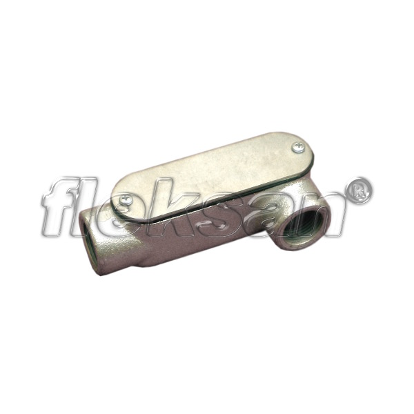 CONDULET, MALLEABLE IRON, OUTLET LL