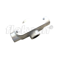CONDULET, MALLEABLE IRON, OUTLET X