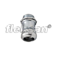 EMT COMPRESSION CONNECTOR, STEEL, MALE