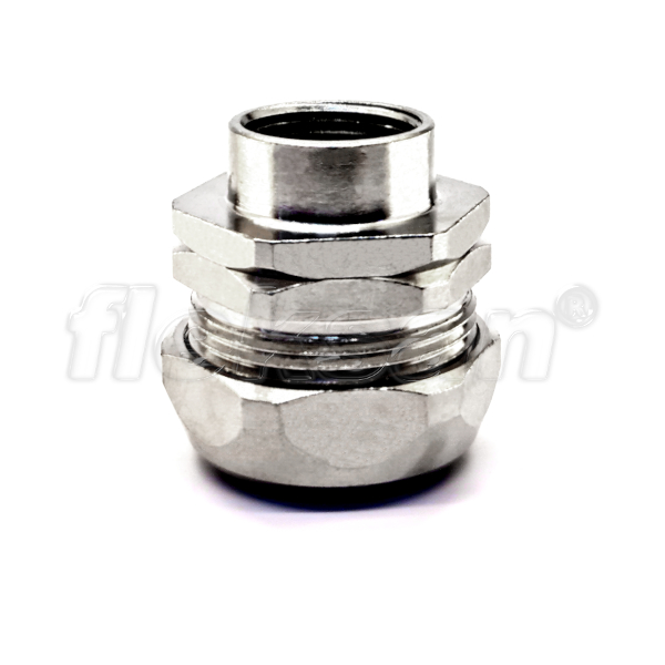 CONNECTOR, BRASS, LIQUID-TIGHT, FEMALE SWIVEL