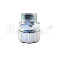 CONNECTOR, METALLIC, LIQUID-TIGHT, UL MALE