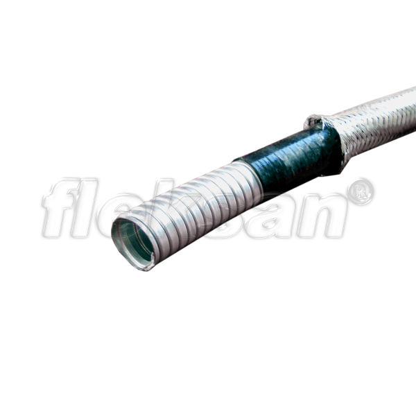 FLEXIBLE CONDUIT, LIQUID-TIGHT STAINLESS BRAIDED