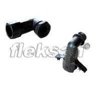 CONDUIT CONNECTOR, POLYAMIDE 90 BLACK
