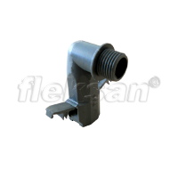 CONDUIT CONNECTOR, POLYAMIDE 90 GRAY