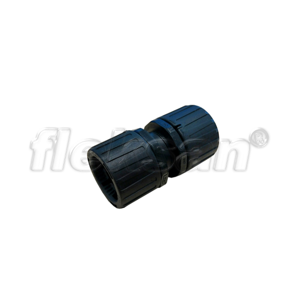CONDUIT COUPLING, POLYAMIDE, BLACK