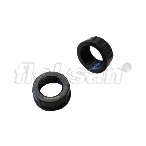 IMC BUSHING, PLASTIC INSULATING BLACK