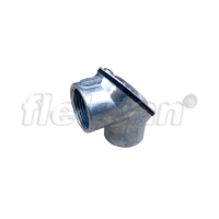 IMC PULL ELBOW WITH GASKET 90