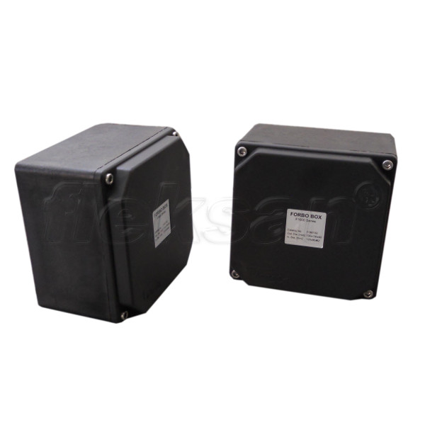TERMINATION BOX, POLYAMIDE, BLACK