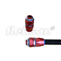 CONNECTOR, ALUMINUM, LIQUID-TIGHT SWIVEL