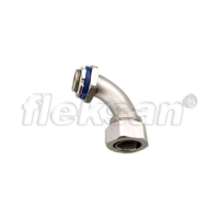 LIQUID-TIGHT CONNECTOR, STAINLESS STEEL 90