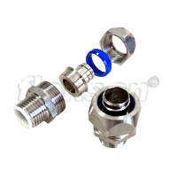 LIQUID-TIGHT CONNECTOR, STAINLESS STEEL MALE