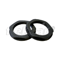 LOCKNUT, POLYAMIDE BLACK