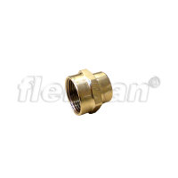 REDUCER COUPLING, BRASS